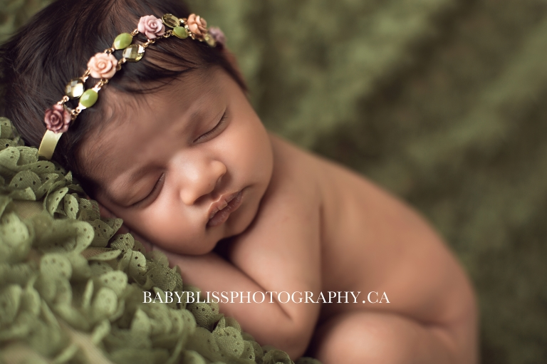 Beautiful newborn portraits of Maeve