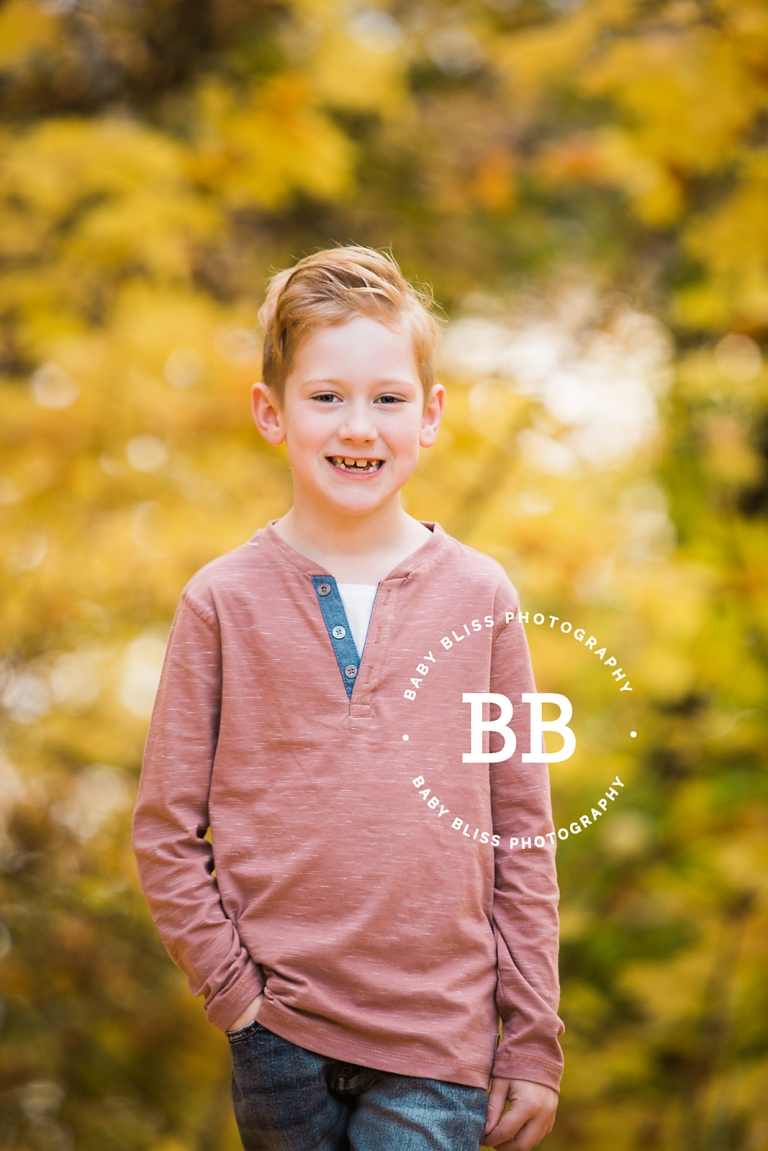 Autumn Family Portraits with Vernon Photographer